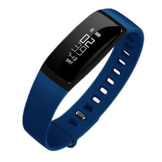 Z-V07 - 0.87 Smart Watch Fitness Tracker/Bluetooth V4.0 Bracelet - Blood Pressure / Heart Rate / Pedometer/Calories /Reminder/Sleep-Android/iOS Phones