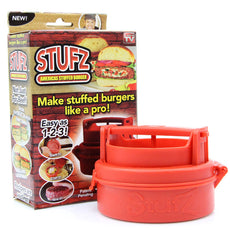Filler and Stuffer Home Burger Press Hamburger Grill BBQ Patty Maker