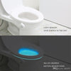 2 x Motion Activated LED Toilet Night Light Bowl LED Lamp Sensor