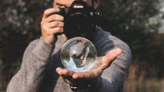 60mm Crystal Ball - Sphere Crystal Photography Lens Ball