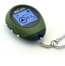 Mini Personal GPS Receiver + Location Finder Keychain