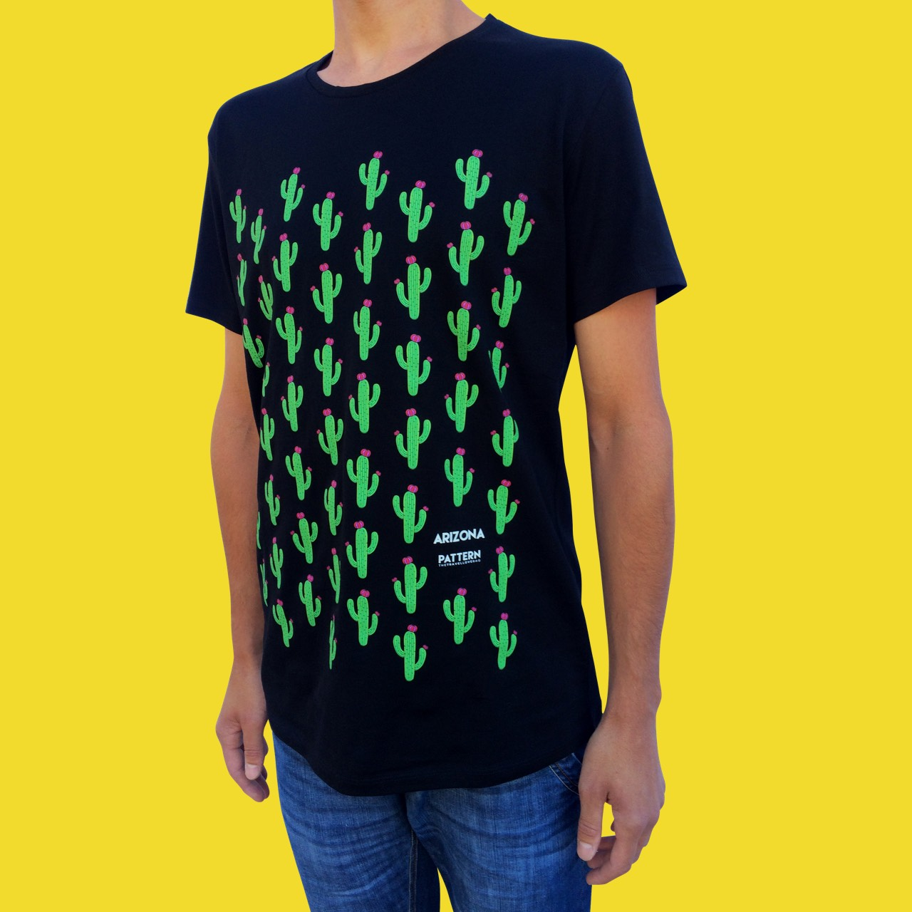 T-shirt Man Arizona Black