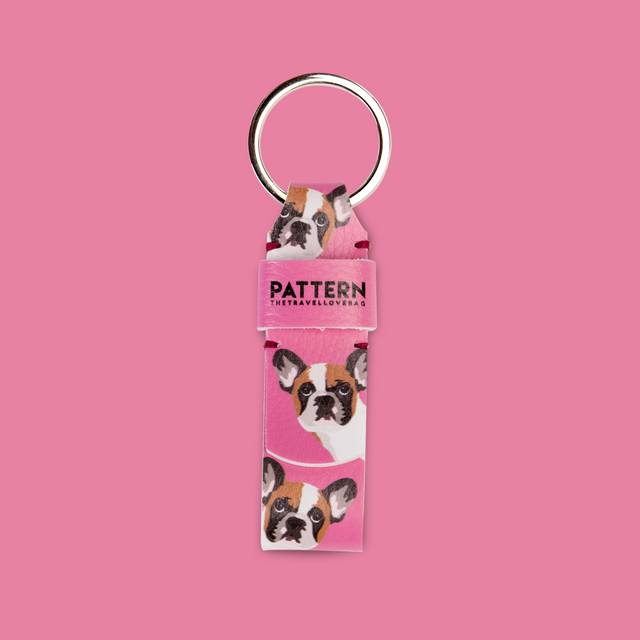 Key Ring Bulldog