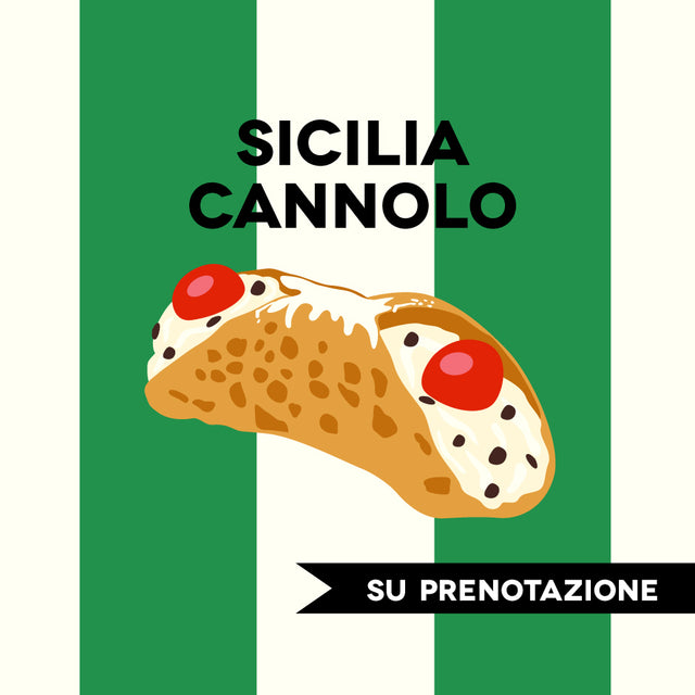 LOVE SICILIA-CANNOLO SICILIANO