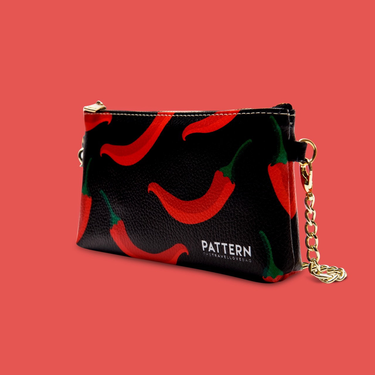 Miss Pocket Calabria Pattern Black