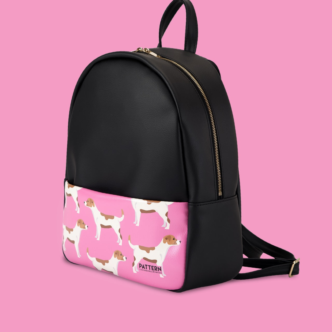 Backpack Jack Russell black