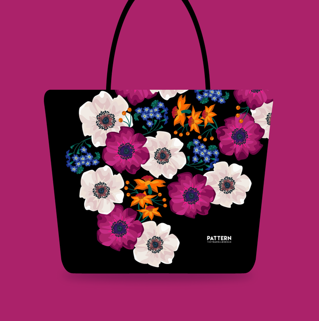 Shopper Spring Black