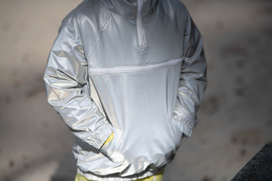 ''HI-VIS KID'' REFLECTIVE WIND BREAKER