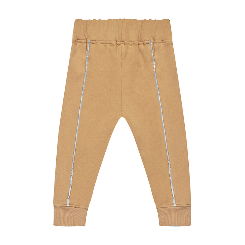 ''LIGHTNING'' SWEATPANTS LATTE - ZAYBAC KIDS