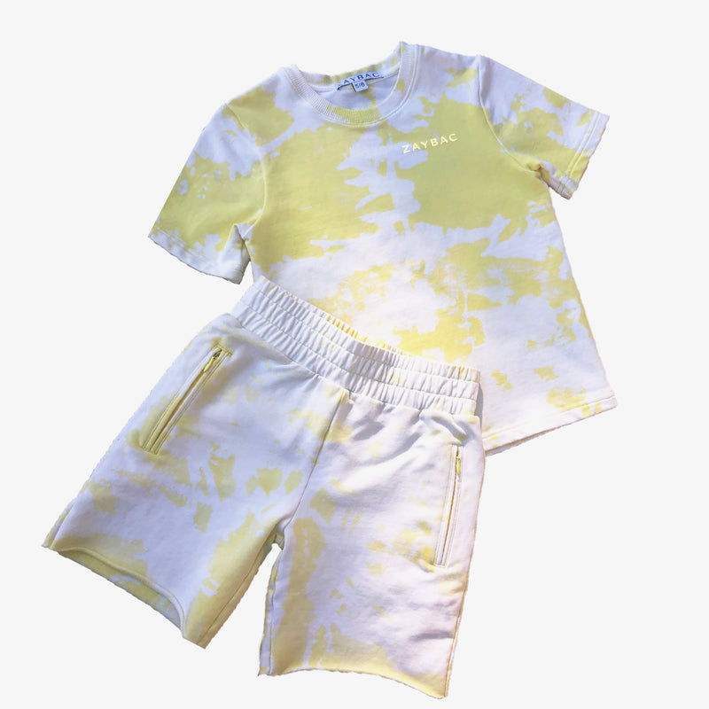 REWORKED TIE DYE SET