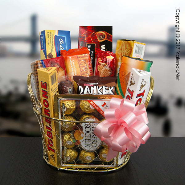 I Miss You! – Chocolate Gift Basket