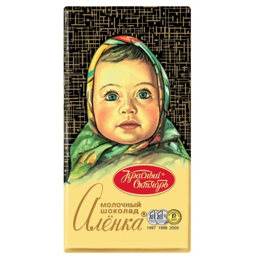 Alenka Milk Chocolate, 3.52 oz (100g)