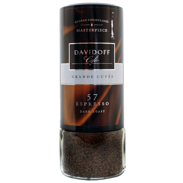 Davidoff Cafe Espresso 57 Dark Roast Instant Coffee, 3.5 oz (100g)