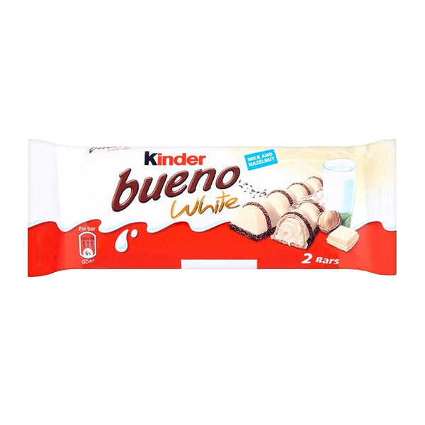 "Kinder ""Bueno"" Chocolate ""White,"" 1.5 oz (43g)"