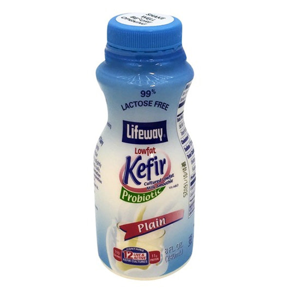 Lifeway Greek Style Plain Kefir, 8 oz (236ml)