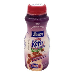 "Lifeway Low Fat Kefir ""Pomegranate,"" 8 oz (236ml)"