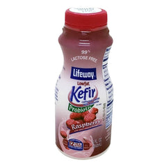 "Lifeway Low Fat Kefir ""Raspberry,"" 8 oz (236ml)"