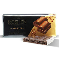 Roshen Aerated Dark Chocolate, 3.52 oz (100g)