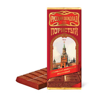 "Russian Aerated ""Milk"" Chocolate, 3.52 oz (100g)"