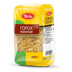 "Uvelka Cracked Peas ""Goroh,"" 1.76 lb (800g)"