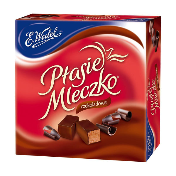 "Ptasie Mleczko Bird's Milk ""Chocolate,"" 13.4 oz (380g)"