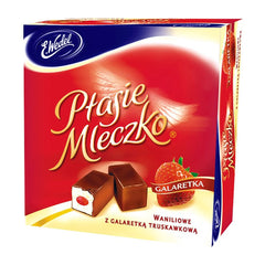 "Ptasie Mleczko Bird's Milk ""Strawberry,"" 13.4 oz (380g)"