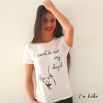 I Want to Ride My Bicycle - T-shirts