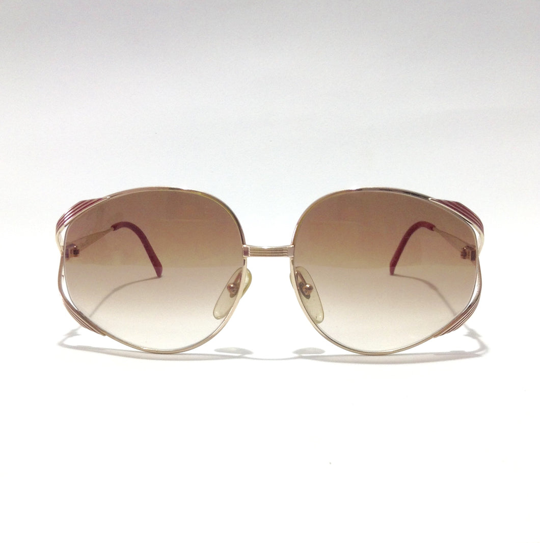 DIOR - Vintage Women Sunglasses (red frame)