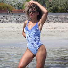 blue velvet swimsuit