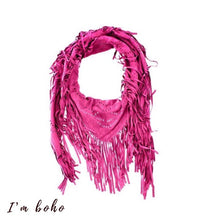 boho clothes scarf