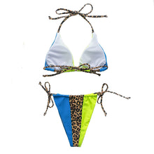 Bikini Thong Animal Print