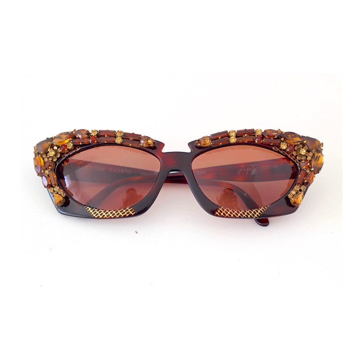 Vintage Golden Age of Hollywood Zagato Sunglasses