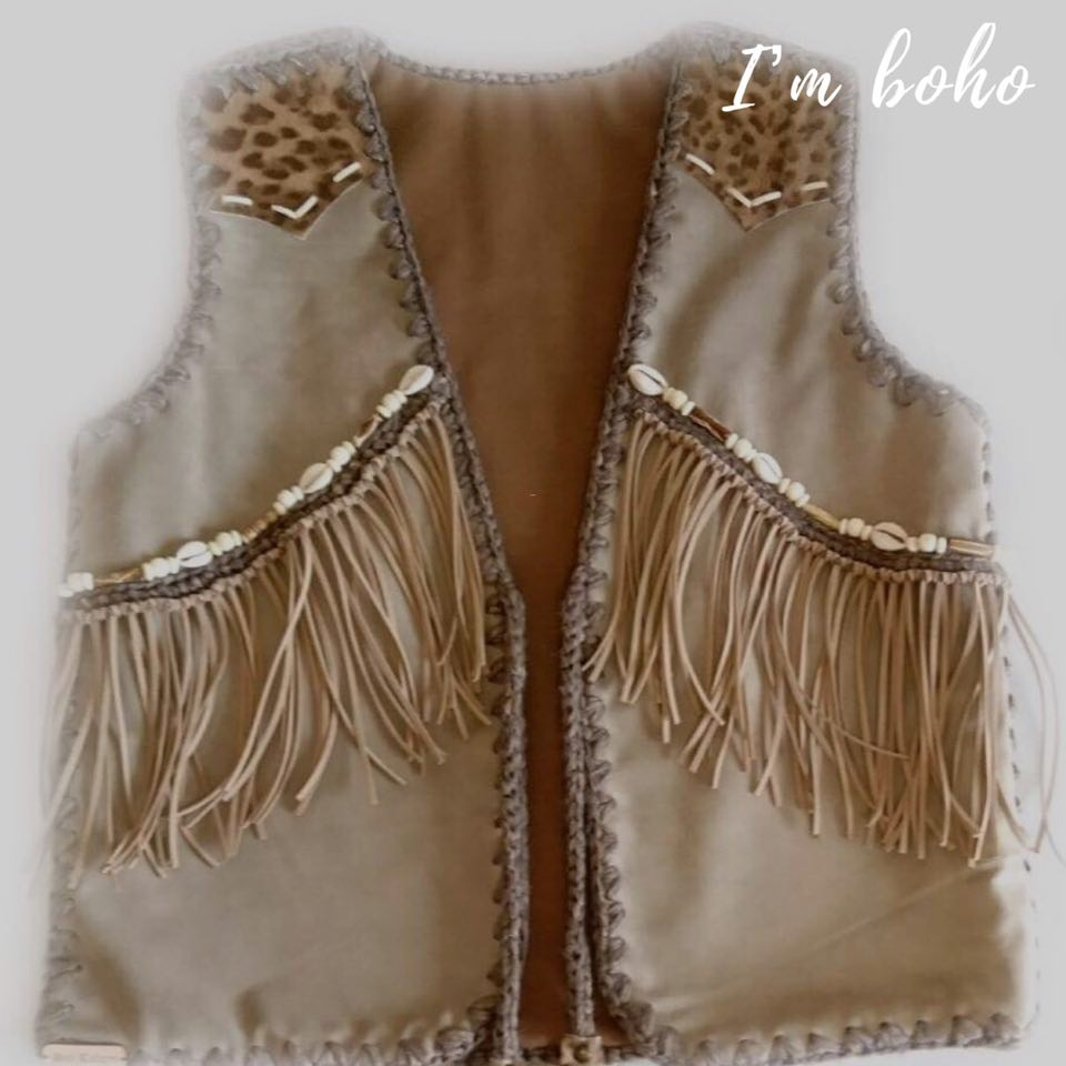 Boho Hippie Handmade Clothes Leather
