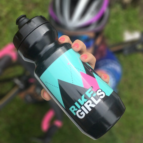 Bike Girls Cycling Waterbottle with Mountains | Termo Bike Girls Montañas