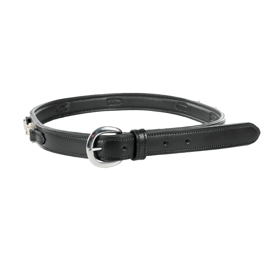 Leather Crystal Bit Belt Horze