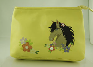Horse Head Makeup Bag