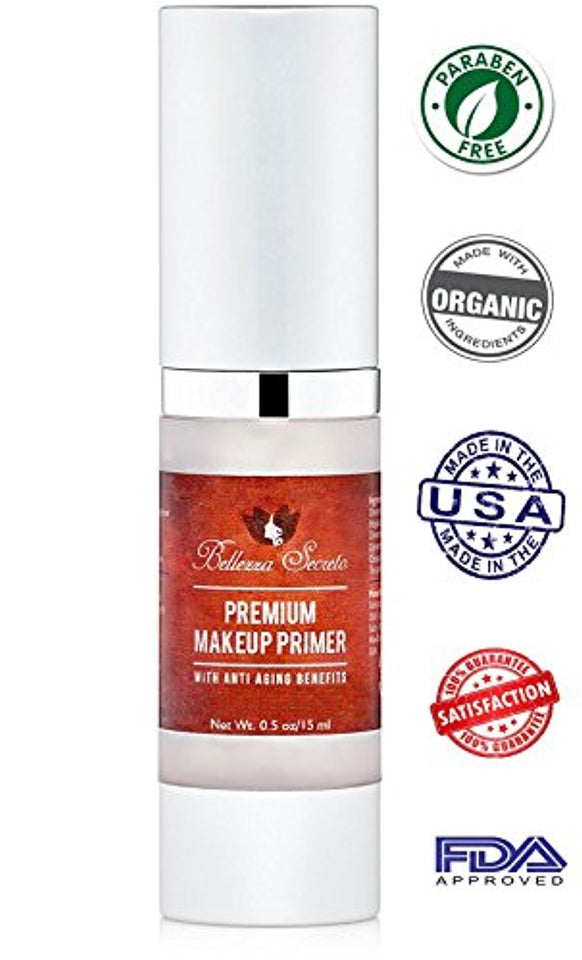 Premium Foundation Makeup Primer Anti Aging Fine Lines Wrinkles P Rateduspro
