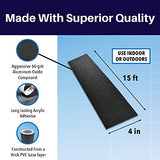 SlipDoctors Black Anti-Slip Safety Tape - Highest Traction 4-inch by 15-foot (indoor or outdoor)