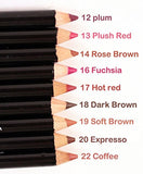 Nabi High Quality Lip Liner Pencils