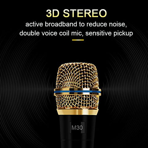 Professional Condenser Microphone Recording with Stand for PC Computer iphone Phone Android Ipad Podcasting, Online Chatting Mini Microphones by XIAOKOA
