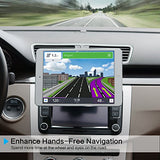 Universal Car Mount [3 in 1], Magnetic Tablet Car Mount for 7.9-8.5 inch Android Tablet/iPad Mini, CD Player Cell Phone Holder for iPhone/Android Phone, CD Slot GPS Mount for Garmin Nuvi GPS