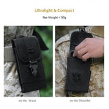"OneTigris MOLLE Phone Pouch for 4.7"" 5.5"" Phone with Slim Case"