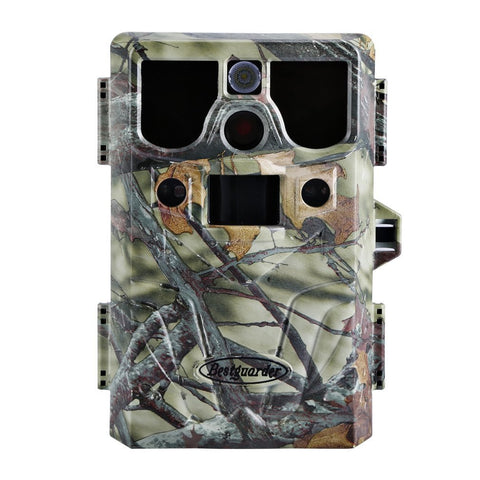 LESHP Game and Trail Camera 12MP 1080P HD With Time Lapse 65ft 120¡ã Wide Angle Infrared Night Vision 42pcs IR LEDs Waterproof IP66 2.4