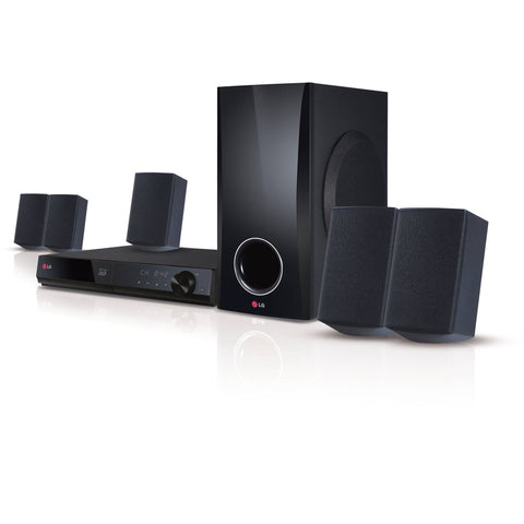 LG 5.1 Channel 500W Smart 3D Blu-ray Home Theater System (BH5140S)