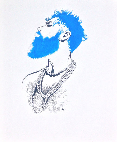 Blue Beard (original artwork)