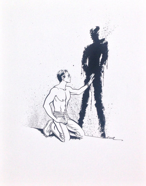 Roy Garrett 2 Shadow (original artwork)