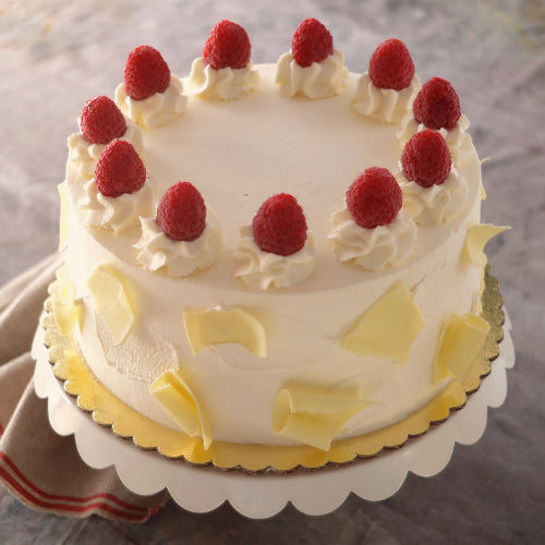 Rasberry White Chocolate Cake