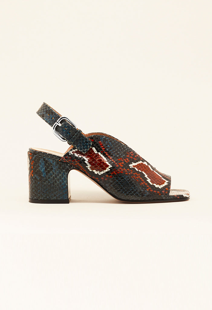 Baghera in Navy/Brick