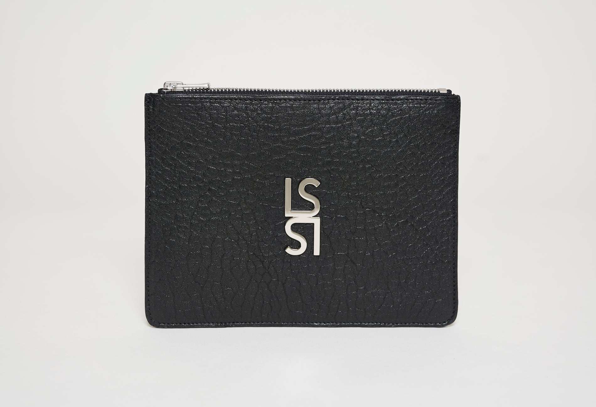 Sculpture Pouch - Grained Leather