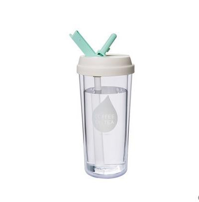 Healthy 480ml Plastic Travel Mug